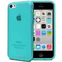 Fosmon® DURA-FRO Series TPU Case Cover for NEW 2013 iPhone 5C - Fosmon Retail Packaging (Teal)