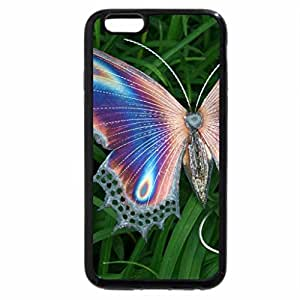 iPhone 6S / iPhone 6 Case (Black) butterfly