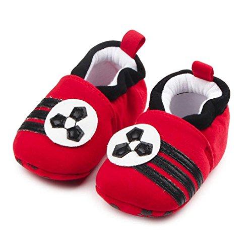 Igemy 1 Paar Lovely Baby Round Toe Flats weiches Kleinkind Hausschuhe Schuhe A