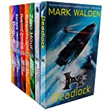 Mark Walden Collection HIVE Series 8 Books Bundle (Aftershock, Deadlock, Zero Hour, The Overlord Protocol, Higher Institute of Villainous Education, Escape Velocity, Dreadnought, Rogue)