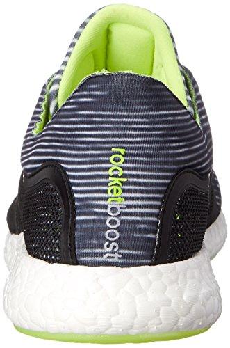Adidas Performance Mens Cc Raket Boost M Hardloopschoen Wit / Zwart / Solar Geel