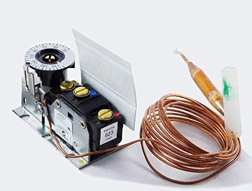 Johnson Controls, Inc. A19AHC8 30/180f SPDT 8' Cap TempCntrl