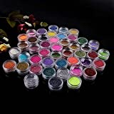 New Nail Art Make up Body Glitter Shimmer Dust