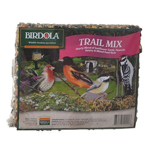 (Birdola 324011 Trail Mix Seed Cake, 2.2-lb, PHL324011)