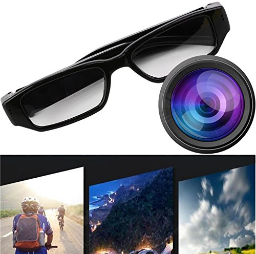 Mini 720P HD Camera Glasses Eyewear DVR Video Recorder Cam Camcorder by Genuiskids