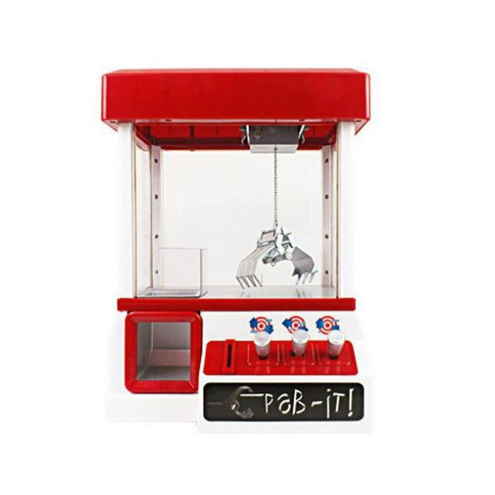 CFZHANG Grabber Machine Crane Claw Arcade Timer Creative Electronic Crazy Funny Music Global Gizmos Game Kids Christmas Gift