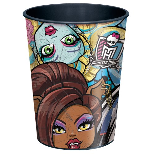 16oz Monster High Plastic Cup