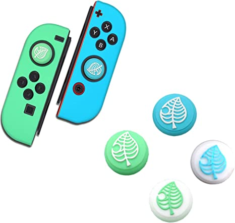 Switch Thumb Grips Analog Stick Cover Animal Crossing Theme ...