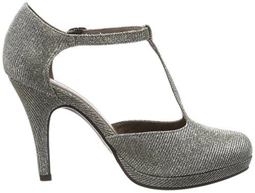 24429 Argent platinum Glam Femme Tamaris Escarpins SdxqnF