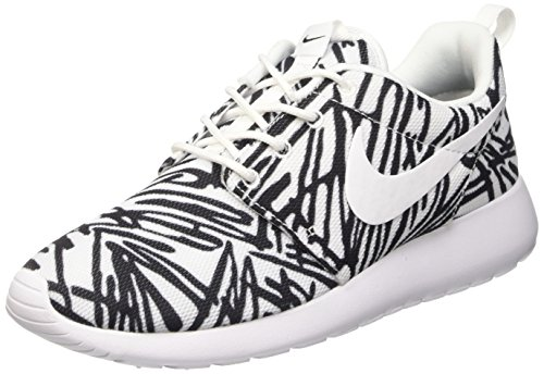 Nike Roshe One Rosheone Print Sneaker White Black