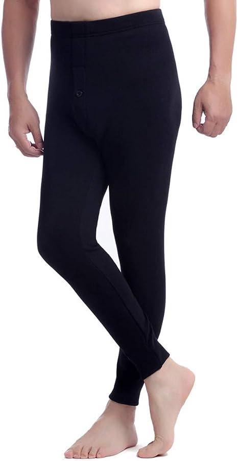 SONGSS Ropa Interior térmica para Hombres Pantalones Calientes más ...