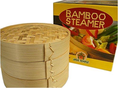 Bambusdämpfer 3-Teilig 25 cm Bamboo Steamer Set