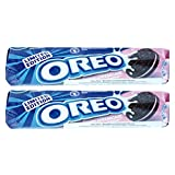 Oreo Strawberry Cheesecake Biscuits 154g (Pack of 2)