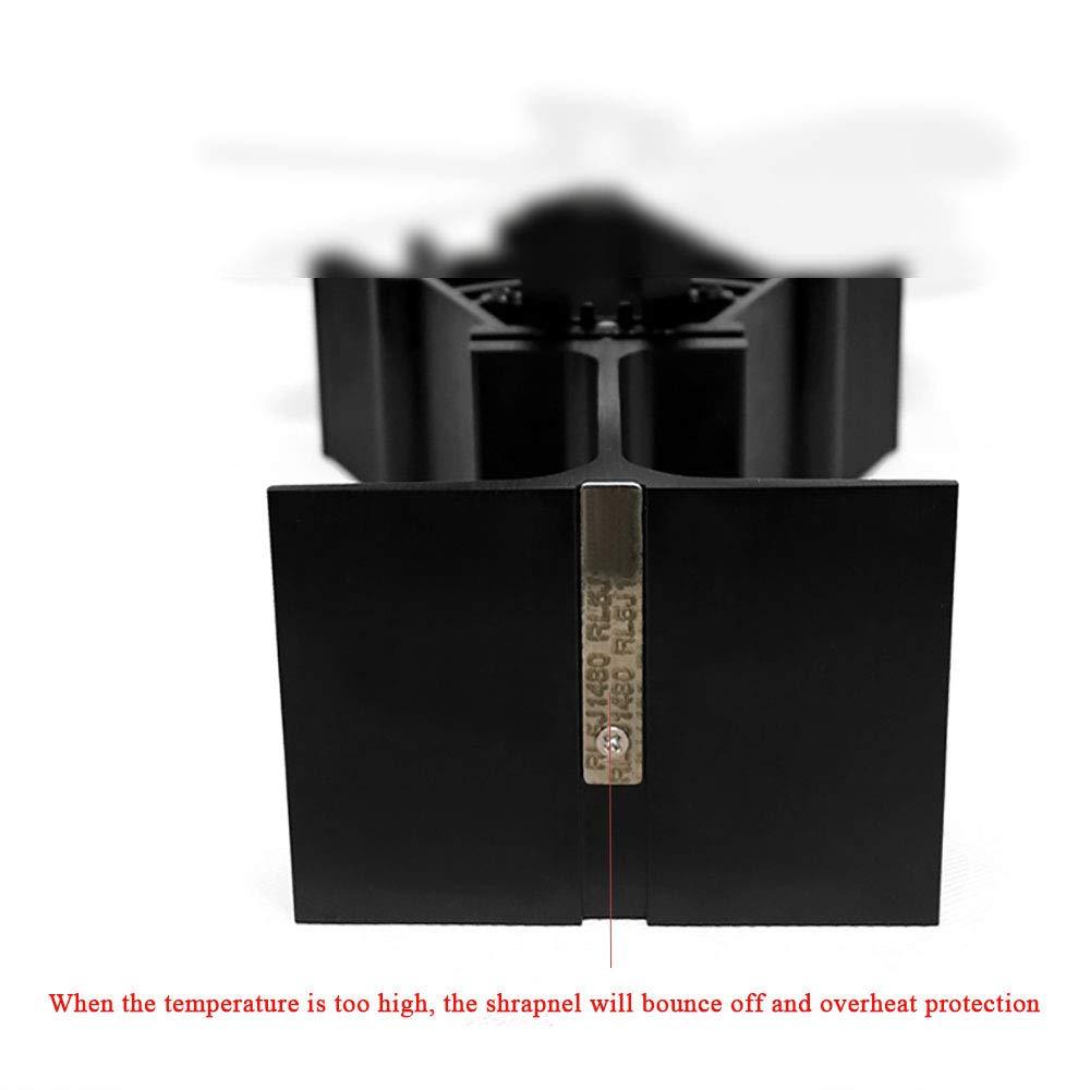 Ventilador sin humo para chimenea, WWSUNNY sin electricidad sin ruido chimenea, 2 aspas del ventilador Negro: Amazon.es: Bricolaje y herramientas