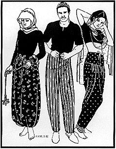 - Sarouelles Folkwear Ethnic Patterns 119