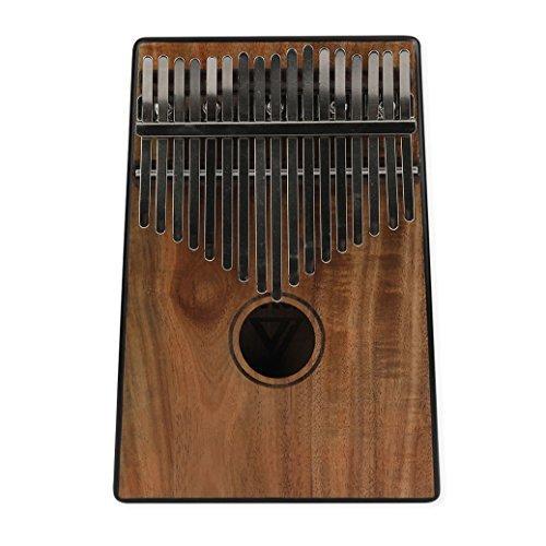 VI VICTORY 17 Key Koa Wood Kalimba African Thumb Piano Finger Percussion Keyboard Music Instruments
