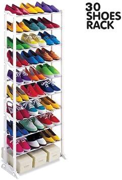 BITR Zapatero Estante para Zapatos Zapatero f.30Pares de Zapatos