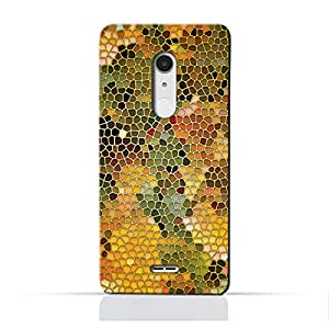 AMC Design Alcatel A3 XLTPU Silicone Protective Case with Stained Art Glass Pattern