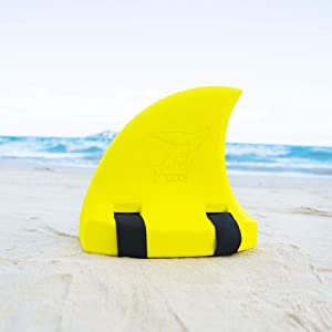 æ— Kid Shark Swim Fin Animal Swim Ring Float Toy Floating Shark Fin Pool Toy Aid Pool Floats Swimming Training Aid Fin for Girls/Boys