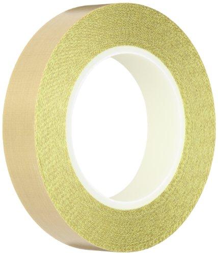 (Teflon PTFE Glass Cloth Backing Adhesive Tape, 18 yds. x 1