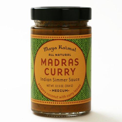 Madras Curry by Maya Kaimal (12.5 ounce) (Madras Curry Sauce)