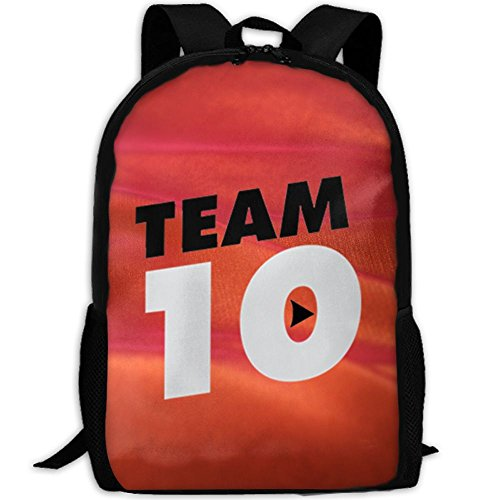 Team-10 Adult Outdoor Leisure Sports Backpack And School Backpack
