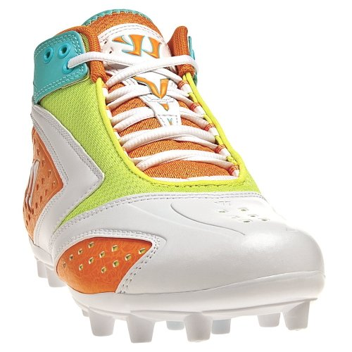 Warrior Lacrosse Men's WMSSM2SM Lacrosse Cleat,White,11.5 M US by Warrior Sports