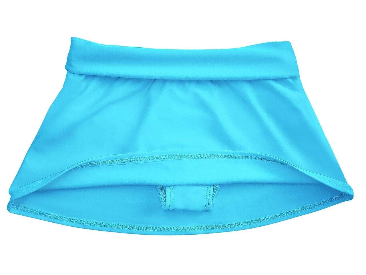 grUVywear Girls Rash Guard Long Sleeve Swim Skirt Set Sun Protective UPF 50