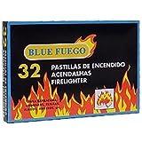 Caja de 32 pastillas de encendido fuego para chimeneas, estufas, barbacoas
