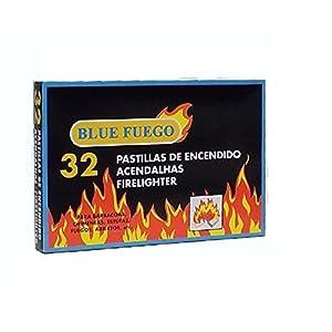 Confezione da 32 pastiglie per accendere il fuoco, per camini, stufe, barbecue 8 spesavip