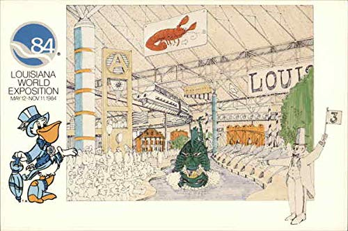 Louisiana World Exposition New Orleans Original Vintage Postcard from CardCow Vintage Postcards