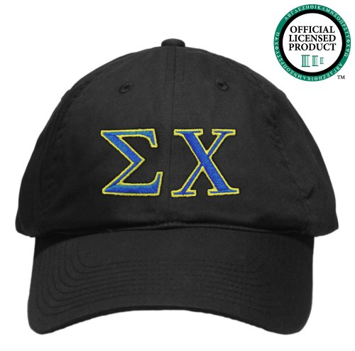 Sigma Chi (Sigma Chi) Embroidered Nike Golf Hat, Various Colors
