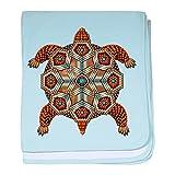CafePress - Native American Turtle 02 - Baby Blanket, Super Soft Newborn Swaddle