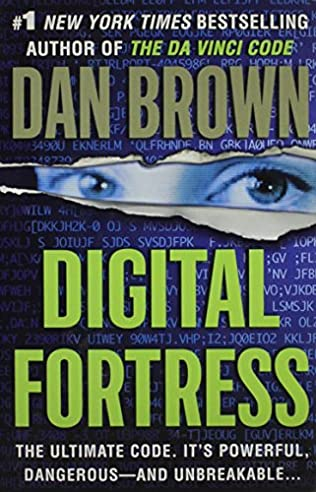 book cover of Digital Fortress