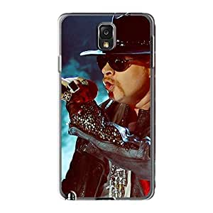 Excellent Hard Cell-phone Case For Samsung Galaxy Note3 (Mpg9179BINZ) Allow Personal Design HD Guns N Roses Pattern