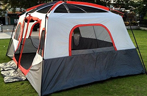 Xmaker Outdoor-Zelt Großen Raum Im Freien Lager Regensturm Familienzelt