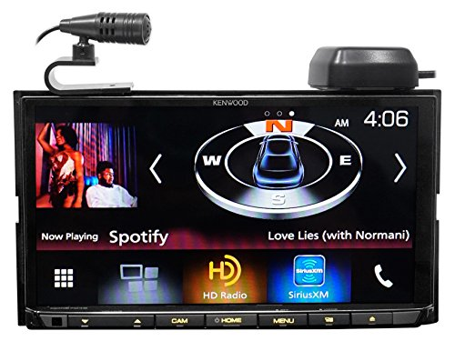 Kenwood DDX9704S In-Dash DVD Receiver with Apple CarPlay & Android Auto by Kenwood (Image #1)