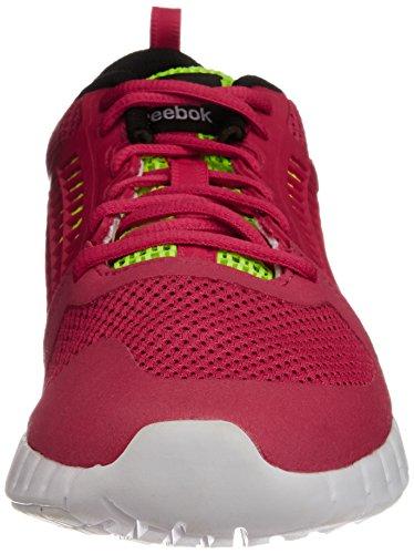 De Femme Rouge magenta yellow Running 0 2 Reebok Zquick Chaussures wht Pop black 1Yw1IH