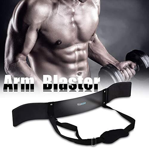 Arm Blaster, Heavy Duty Arm Krul Blaster Biceps Bommenwerper Arnold Biceps Isolator Premium Hijsbanden Fitness…