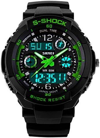 UGE 164ft Waterproof S-Shock Sport Hiking Multifunction Digital Unisex Watch Wristwatch