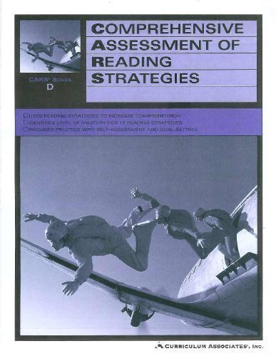 Comprehensive Assessment Of Reading Strategies - CARS Series D ...