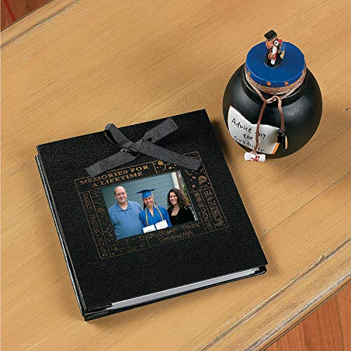 Fun Express - Deluxe Graduation Photo Book for Graduation - Home Decor - Gifts - Photo Frames & Photo Albums - Graduation - 1 Piece -
