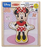 Melissa & Doug Disney Minnie Mouse Mix and Match Dress-Up Wooden Play Set (18 Pieces, Great Gift for Girls and Boys - Best for 3, 4, 5, and 6 Year Olds)
