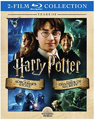 Harry Potter Double Feature: Harry Potter and the Sorcerer's Stone / Harry Potter and the Chamber of Secrets [Blu-ray] (Harry Potter And The Sorcerers Stone English Subtitles)