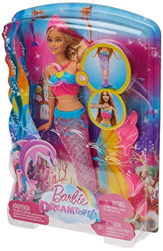 Barbie Dreamtopia Rainbow Lights Mermaid Doll, Blonde