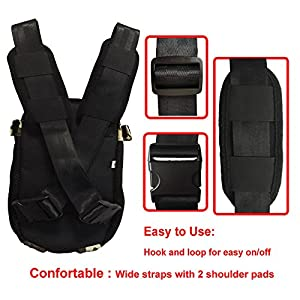 HANCIN Adjustable Dogs Backpack Carrier, Legs Out Front Cat Dog Carrier Backpack with Wide Straps and Shoulder Pads, for Walking, Travel, Hiking, Camo