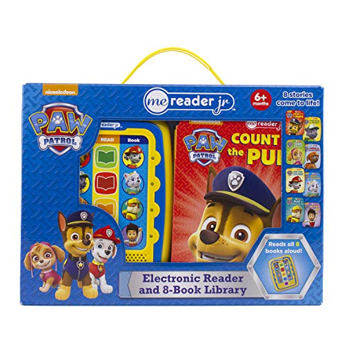 Nickelodeon - PAW Patrol Electronic Me Reader Jr. 8 Sound Book Library - PI Kids