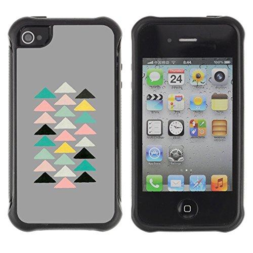Apple Iphone 4 / 4S - Pyramid Modern Art Spiritual