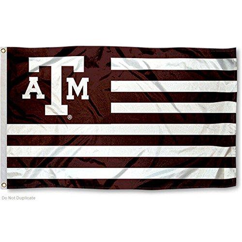 (Texas A&M Aggies Stars and Stripes Nation Flag)
