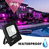 UV LED Black Light, RONSHE 50W UV LED Flood Light
